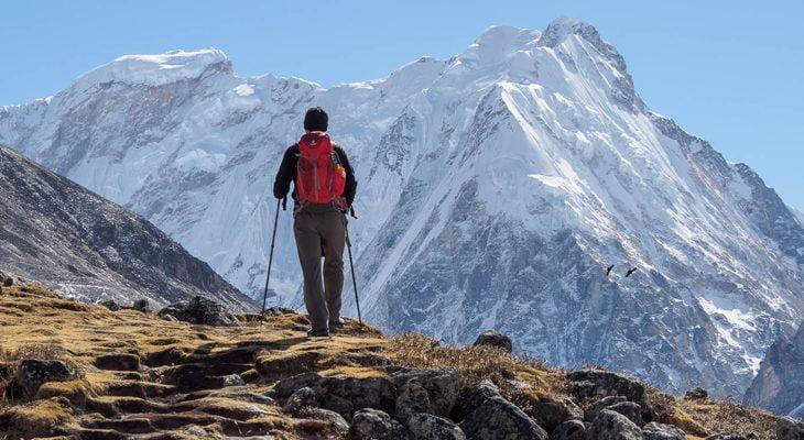 Solo trek to kanchenjunga